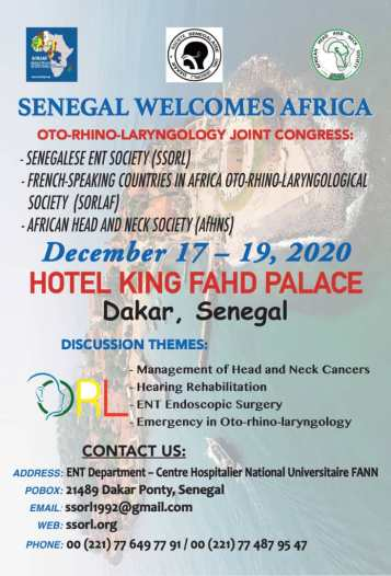 Senegal conference poster